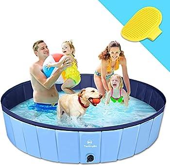 TantivyBo XL Foldable Wading Pool