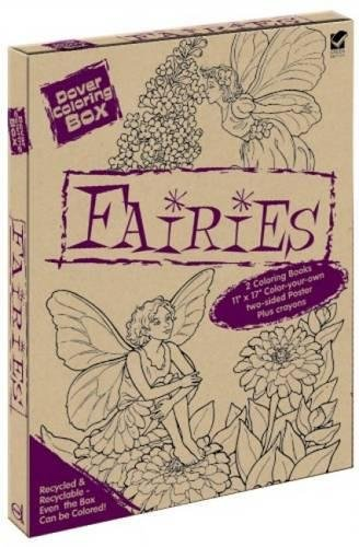 Dover Coloring Box: Fairies (Dover Fun Kits)