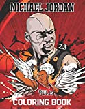 Michael Jordan Coloring Book: The Last Dance TV Series Coloring Books With The King Of NBA