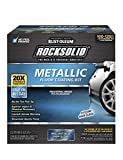 Rust-Oleum 299745 Rocksolid Metallic Garage Floor Coating, 70 fl oz, Brilliant Blue