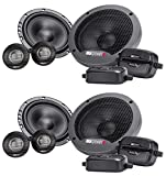 (2) Pairs MB QUART FSB216 6.5' 280 Watt Car Audio Component Speakers