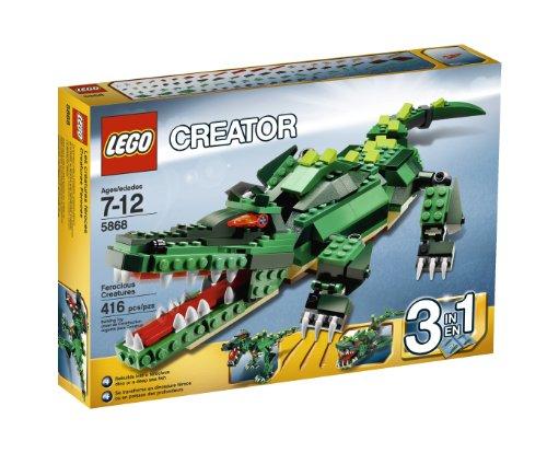 LEGO Ferocious Creatures Multicolore – Figures de Jouet pour Enfants (Multicolore, 7 Année (s), 12 Ans (s), 450 mm)