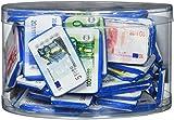 Theobroma Euro Banknoten aus Milchschokolade in der Dose | Spielgeld | Perfekt als Mitbringsel, Schatzsuchen und Zur Dekoration, 1er Pack (1 x 1 kg)