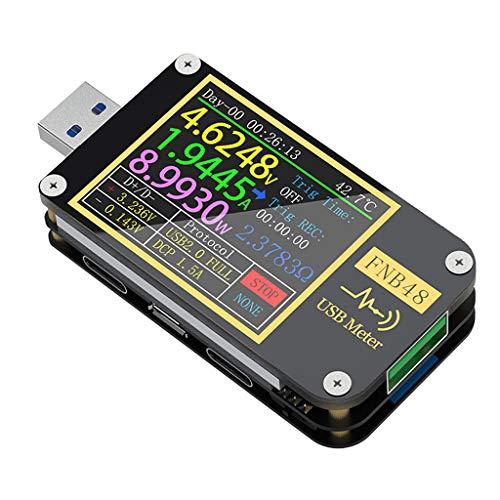 KOBI FNB48 PD Trigger USB Tester Voltmeter Current QC4 PD3.0 2.0 PPS Fast Charging