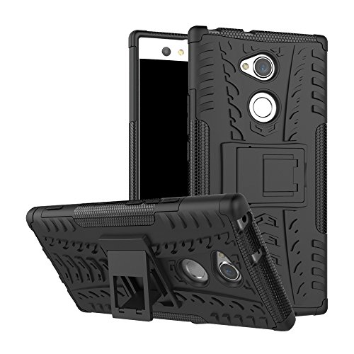 FoneExpert® Sony Xperia XA2 Ultra Handy Tasche, Hülle Abdeckung Cover schutzhülle Tough Strong Rugged Shock Proof Heavy Duty Hülle Für Sony Xperia XA2 Ultra
