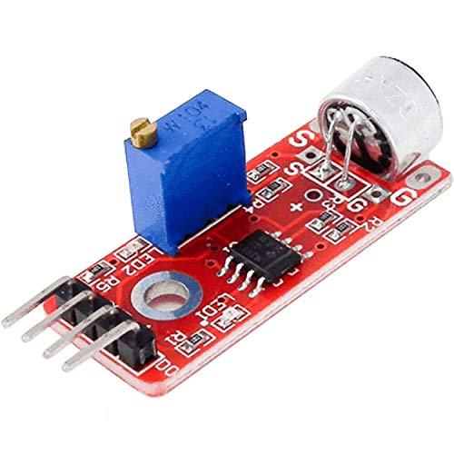 AZDelivery KY-037 High Sensitivity Sound Detection Big Microphone Module for Arduino including eBook