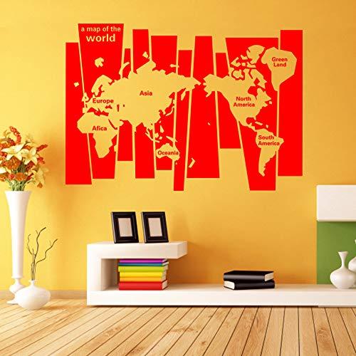 Geiqianjiumai Art design decoratie PVC vierkante kaart muursticker afneembare decoratie