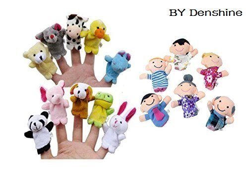 Crochet Hand & Finger Puppets - doitory - doitory | 348x500