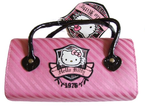 BB Designs Hello Kitty Rosa Handtasche Stil Brille Fall
