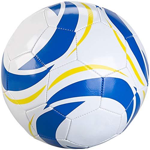 Speeron Ball: Hobby-Fußball aus Kunstleder, 20 cm Ø, Größe 4, 260 g (Fussball Ball)