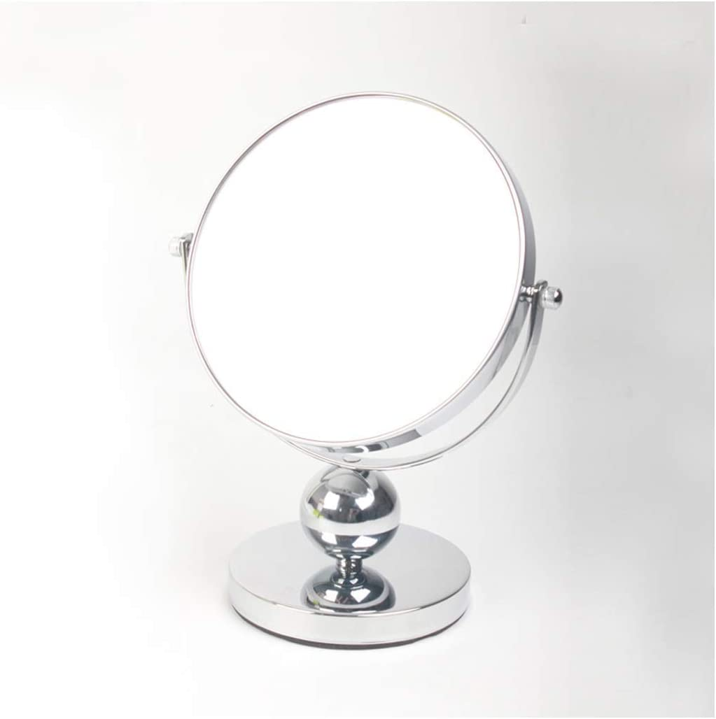 BINGFANG-W Mirror Bathroom Round Max 49% OFF Double-Si Make-up Chicago Mall