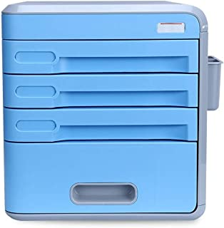 HongLianRiven Plateau en Plastique Multi-Fonction Cabinet Desktop Manager Armoire Sécurité Armoire De Rangement Armoire De...