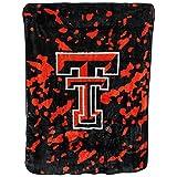 Texas Tech Red Raiders 63 x 86 Soft Raschel Plush Throw Blanket