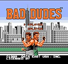 TopFor Bad Dudes Region Free 8 Bit Game Card For 72 Pin Video Game Player