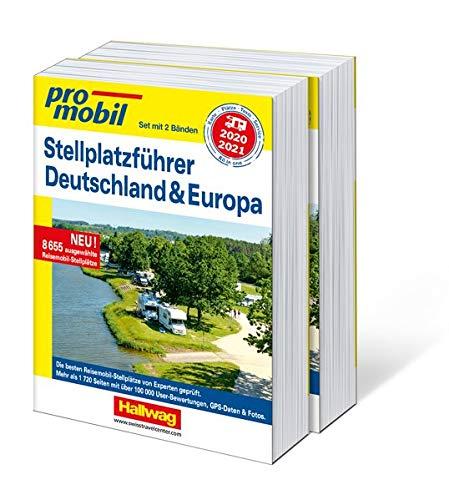 Stellplatzführer Deutschland & Europa 2020/2021: Set mit 2 Bänden (Hallwag Promobil)