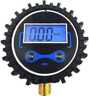 Digitale bandenspanningsmeter, auto band manometer voor Truck Auto Motor Fiets met achtergrondverlichting LCD-scherm Compr...