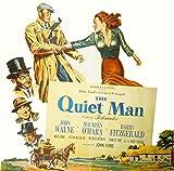 Posterazzi The Quiet Man John Wayne Maureen O'Hara Barry Fitzgerald Victor Mclaglen Ward Bond 1952 - Póster (14 x 11)