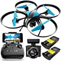 Force1 Drones with Camera for Adults - U49WF - FPV Drone 720P HD Live Video RC Drone, 360 Flips and Easy to Fly Quadcopter, Compatible with VR Headset