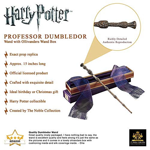 The-Noble-Collection-Professor-Dumbledore-Wand-in-Ollivanders-Box-157-inch-40cm-Professor-Dumbledore-Wand-With-Replica-Ollivanders-Wand-Box-Harry-Potter-Film-Set-Movie-Props-Wands