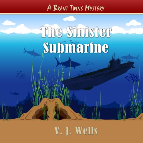 The Sinister Submarine audiobook cover art