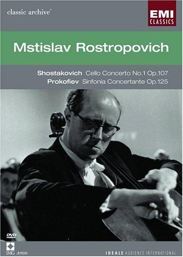 Shostakovich Cello Concerto No. 1 / Prokofiev Sinfonia Concertante / Rostropovich (EMI Classic Archive 15)