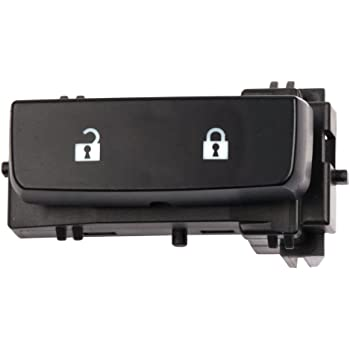 Door Lock Switch Replacement fits 2008-2013 Chevy Silverado 1500 2008-2014 Chevy Silverado 2500HD 2008-2013 GMC Sierra 1500 2008-2014 GMC Sierra 2500 HD 2011-2014 GMC Sierra Denali 2500HD 3500HD