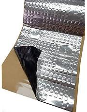 2 m² alubutyl 50x400 cm isolatiemat zelfklevend anti-dreunmat autoisolatie