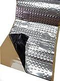 2 qm Alubutyl 50x400 cm Dämmmatte selbstklebend Anti Dröhn Matte Fahrzeugdämmung