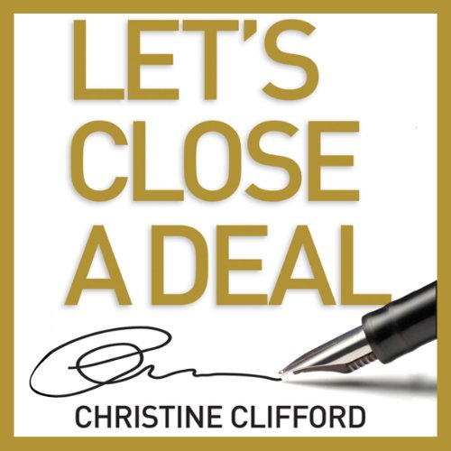 Let's Close a Deal audiobook cover art