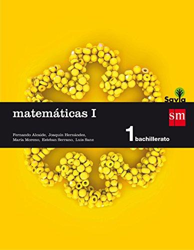 Matemáticas I. 1 Bachillerato. Savia   9788467576566