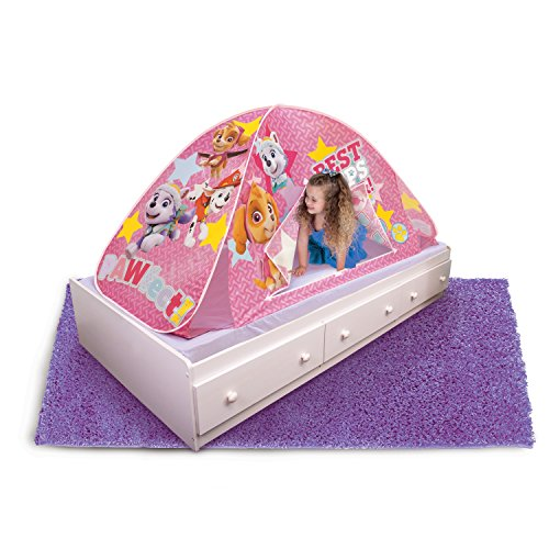 Playhut Paw Patrol 2-in-1 Bed Tent, Pink