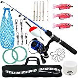 Hunting Hobby Fishing Rod, Reel, Accessories with Travelling Bag