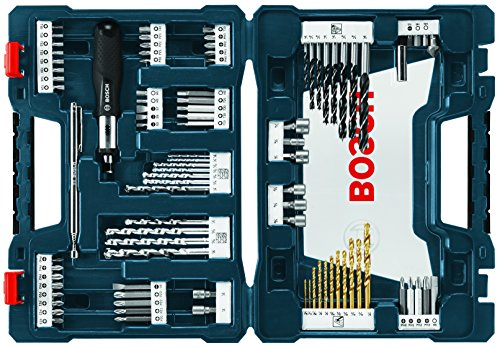 Our #2 Pick is the Bosch 91-Piece Drilling and Driving Mixed Set