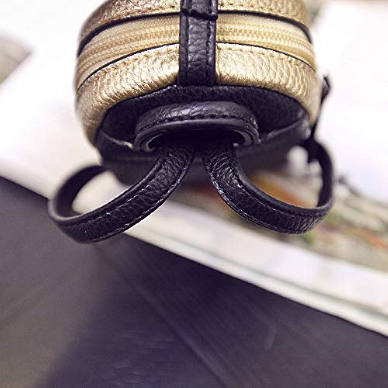 NaXinF Frauen Clutch Lange Geldbörse Koreanische Version von niedlichen Cartoon geldbörse Weibliche Mini nähte Lafayette Feder schlüsselpaket kreative reißverschluss Headset Tasche (Farbe   Gold) B07LF8S6XZ