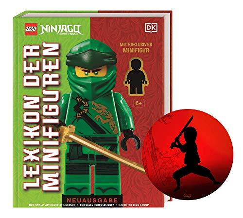 LEGO NINJAGO Lexikon der Minifiguren. Neuausgabe: Mit exklusiver Minifigur + Ninja-Sticker, Nachschlagewerk ab 6 Jahren