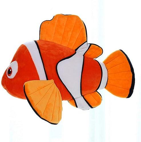 más descuento Ycmjh Ycmjh Ycmjh Payaso de Peluche Lindo pez de Peluche Suave Regalo para Niños Regalo de cumpleaños 60 cm  compras de moda online