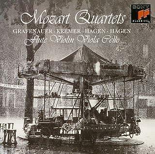 モーツァルト:フルート四重奏曲