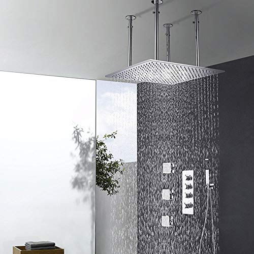 Purchase Zhengtufuzhuang Shower Set - High-Grade Concealed Rain Shower Set, Multi-Function Hot and C...