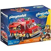 PLAYMOBIL: THE MOVIE Food Truck Del, a Partir de 5 Años (70075)