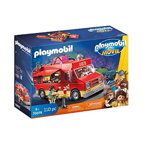 PLAYMOBIL: THE MOVIE Food Truck Del, a Partir de 5 Años (70