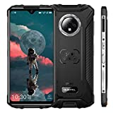 OUKITEL WP8 Pro (2020) Outdoor Handy, 4G Dual-SIM Smartphone Ohne Vertrag, 6,49' HD+ Display IP68 Wasserdichter, 4GB 64GB Android 10, 5000 mAh,16MP Triple Kameras, Face/Fingerprint ID, NFC (Schwarz)
