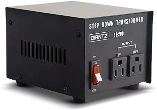 Giantz 200W Step Up and Step Down Transformer Voltage Converter
