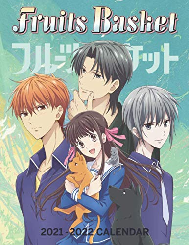 Compare Textbook Prices for Fruits Basket Calendar 2021-2022: 18-month Grid Calendar 8.5x11 inches for teens and adults  ISBN 9798594321922 by Calendar, Anime