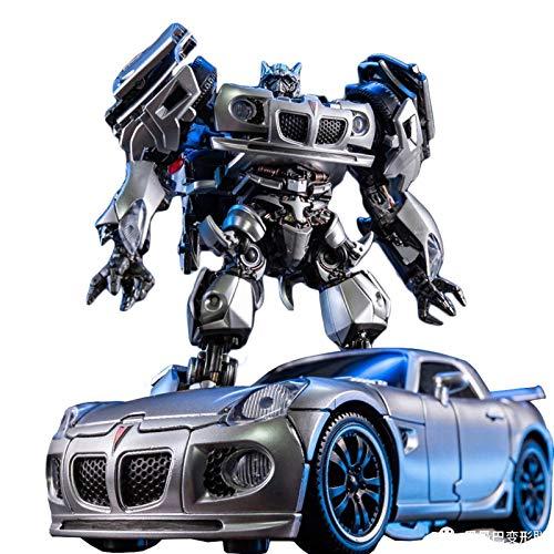 ZLLLL Transfórměrs Tóys, LS-18 Jazz MPM-09 Racing Car Robot Action Figure Robot Toys