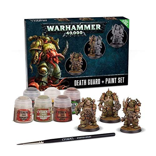 Games Workshop Warhammer 40K - Death Guard + Paint Set