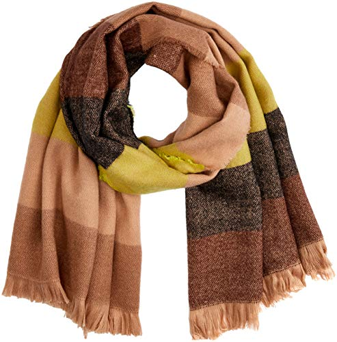 Scotch & Soda R Belle Meisjes Oversized Scarf in Soft Woven Quality sjaal, meerkleurig (Combo A 217), One Size (fabrikantmaat: OS)