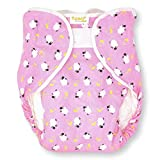 Rearz - Omutsu Bulky Fitted Nighttime Cloth Diaper (Pink - Sheep) (Large/X-Large)