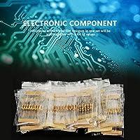抵抗器キットの品揃え、10オーム-1Mオーム1 / 2W 16値電子部品抵抗器の品揃え、電子プロジェクトのための耐久性のある住宅改修