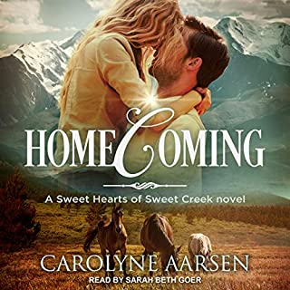 Homecoming     Sweet Hearts of Sweet Creek Series, Book 1              By:                                                                                                                                 Carolyne Aarsen                               Narrated by:                                                                                                                                 Sarah Beth Goer                      Length: 7 hrs and 27 mins     Not rated yet     Overall 0.0