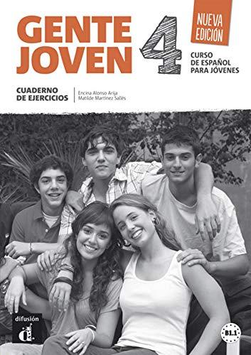 Gente Joven 4 Nueva Edición Cuaderno De Ejercicios: cuaderno de ejercicios + CD